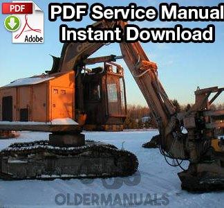 Case 1187, 1187B Feller Buncher Service Manual