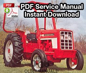 Case IH 454, 464, 484, 574, 584, 674, 684, 784, 884, 84 Hydro, 385 Tractor Service Manual