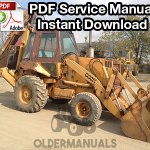 Case 680K Tractor Loader Backhoe Service Manual