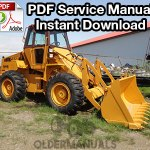 Case W14B Wheel Loader Service Manual