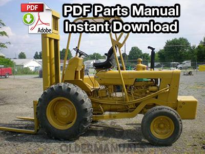Case 530 CK Forklift Parts Manual