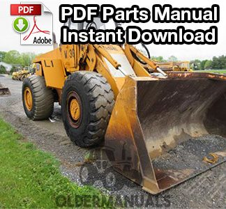 Case W36 Wheel Loader Parts Manual (S/N 17753999 & Below)