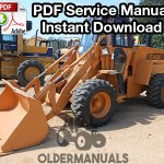 Case W11B Wheel Loader Service Manual