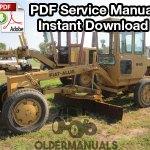 fiat allis 65b motor grader service manual complete fiat allis m65 motor grader service manual complete