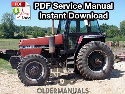 Case IH 2094, 2294, 3294 Tractor Service Manual