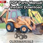 Case 780B Tractor Loader Backhoe Parts Manual