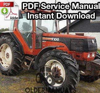 Fiat F100, F110, F120, F130 Turbo Tractor Service Manual