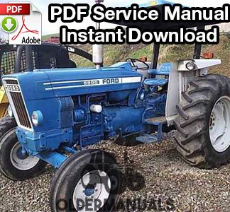 Ford 2600, 3600, 4100, 4600, 5600, 6600, 6700, 7600, 7700 Tractor Service Manual