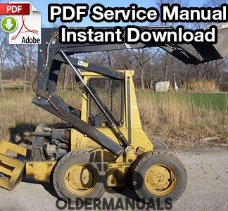 New Holland L553, L554, L555, L565 Skid Steer Loader Service Manual