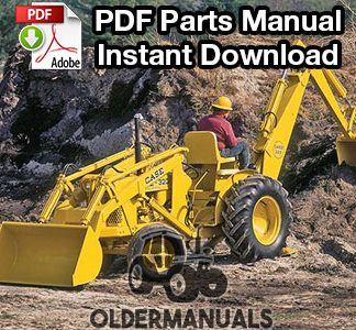 Case 320B, 420B, 420BD Wheel Tractor Parts Manual PDF Download