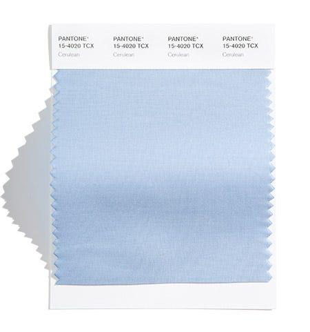 Pantone Color Swatch Cerulean