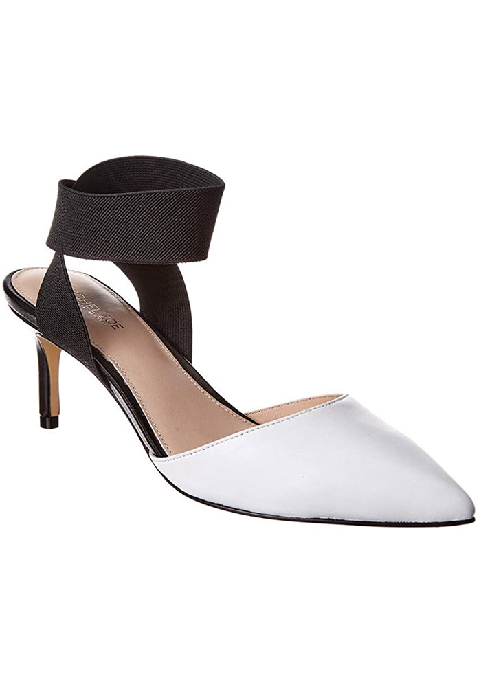 How to Wear White - Rachel Zoe Black and White Pumps