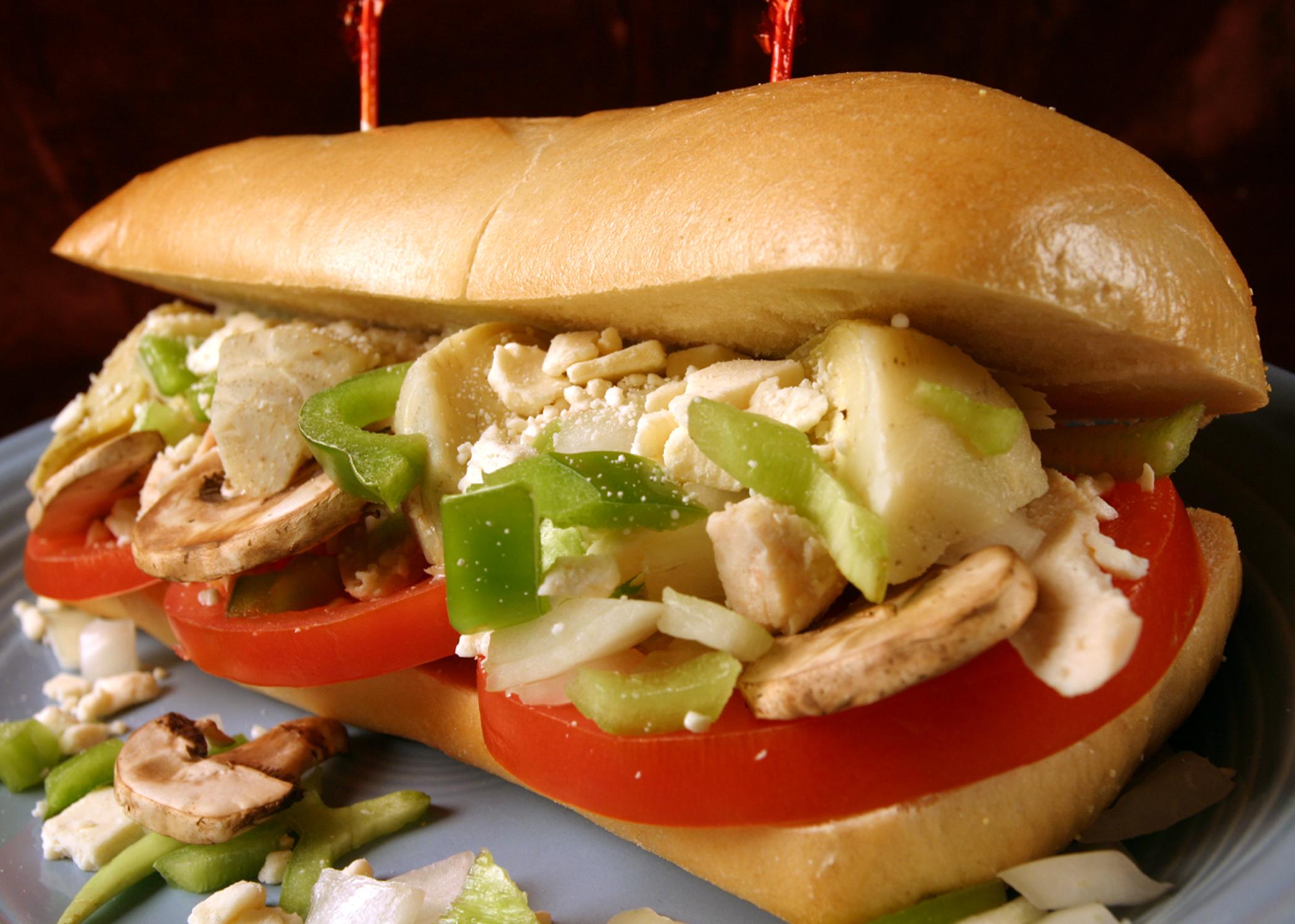 best Greek chicken sandwich in post falls