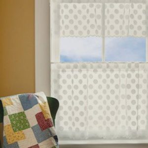 Polka Dot Valance and Tier