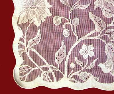 Flora Tablecloth detail