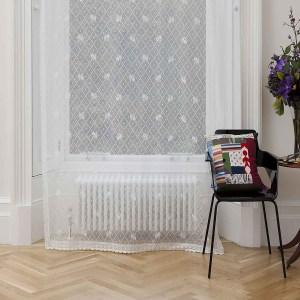 Daisy Trellis Cotton Lace Panel