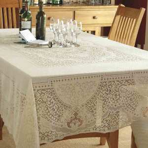 Cotton/Poly Lace Tablecloth