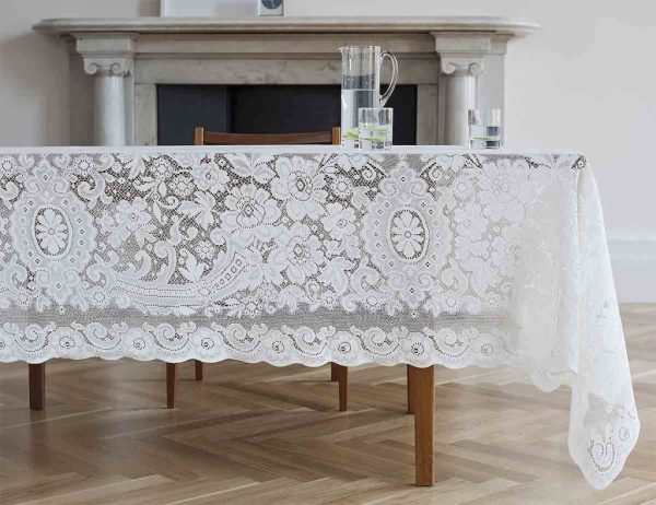 beautiful lace tablecloth - melrose