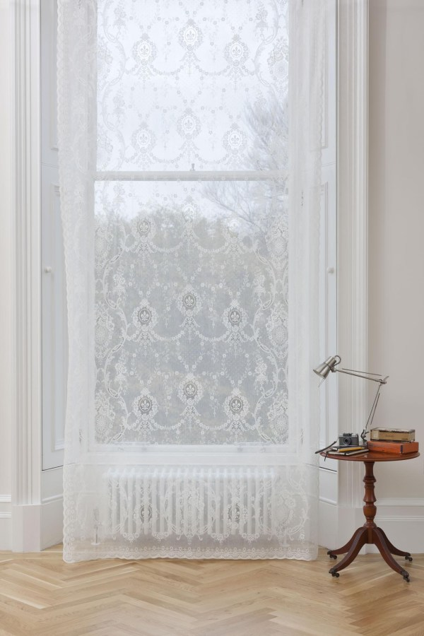 cotton lace curtain - rebecca