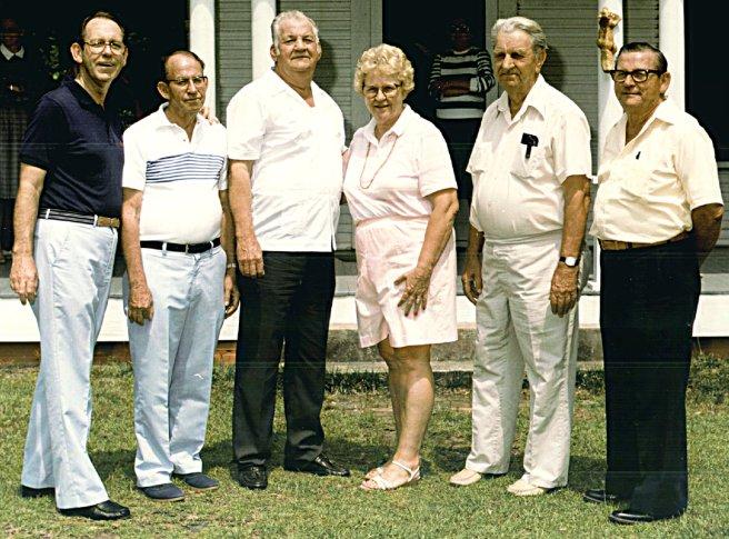 Grandchildren of George Austin McHenry
