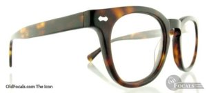 Old Focals Icon eyewear in tortoiseshell