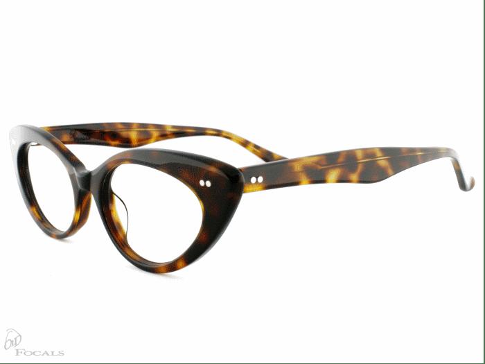 Old Focals Eyewear Design - Kim - Tortoiseshell 02