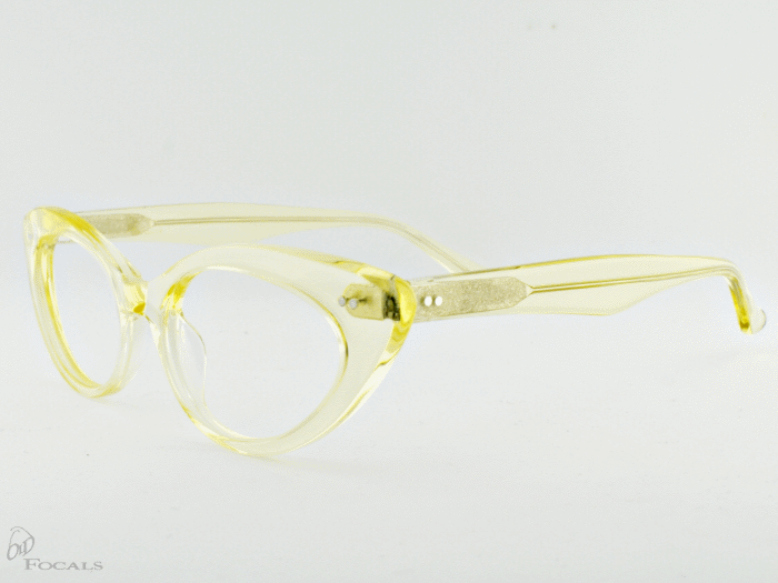Old Focals Eyewear Design - Kim - Chardonnay 03