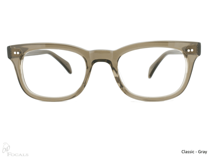Classic Old Focals Frame Gray