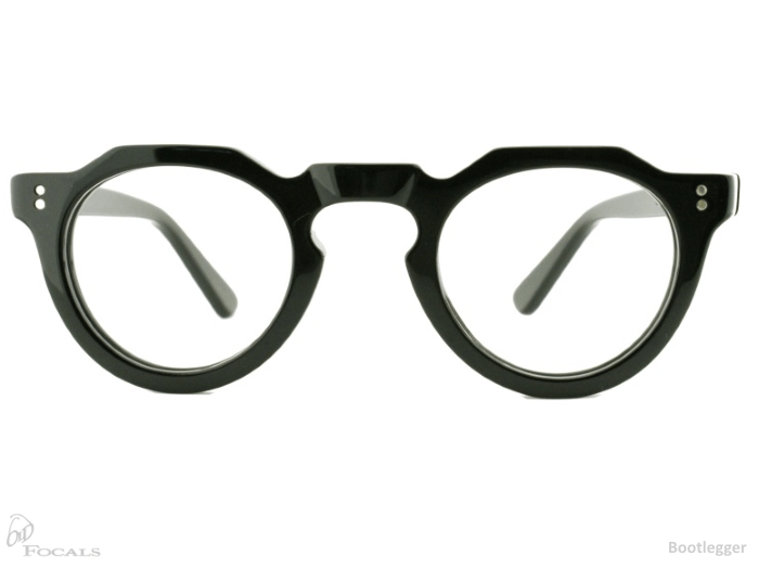 Old Focals Eyewear Bootlegger Black
