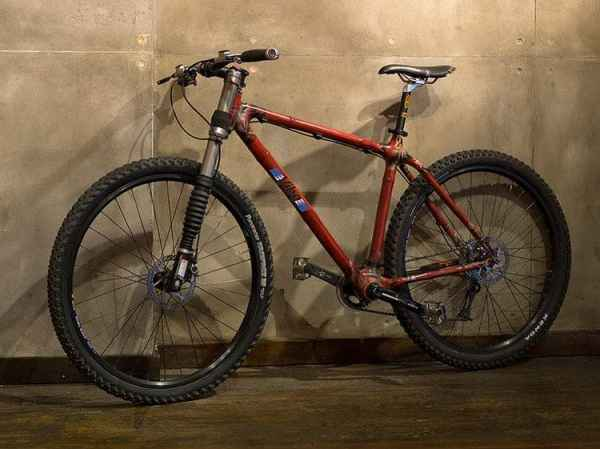 Vibe Cycles Bamboo mountain bike