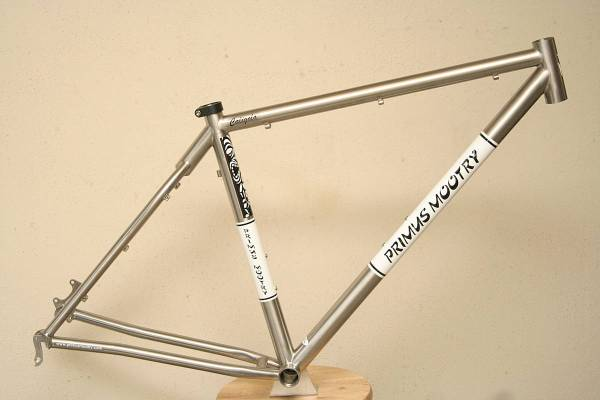 Primus Mootry Foreest Titanium mountain bike
