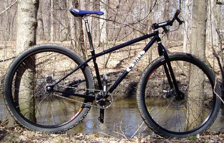 Q Ball 29er mountain bike