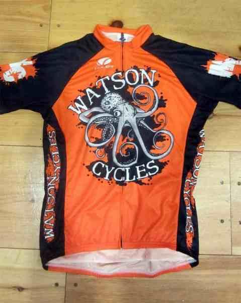 Watson Cycles jersey