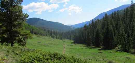 amazing views along the Salida Monarch Crest trail