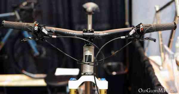 Alliance titanium mountain bike cockpit