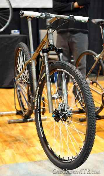 rigid Exogrid mountain bike