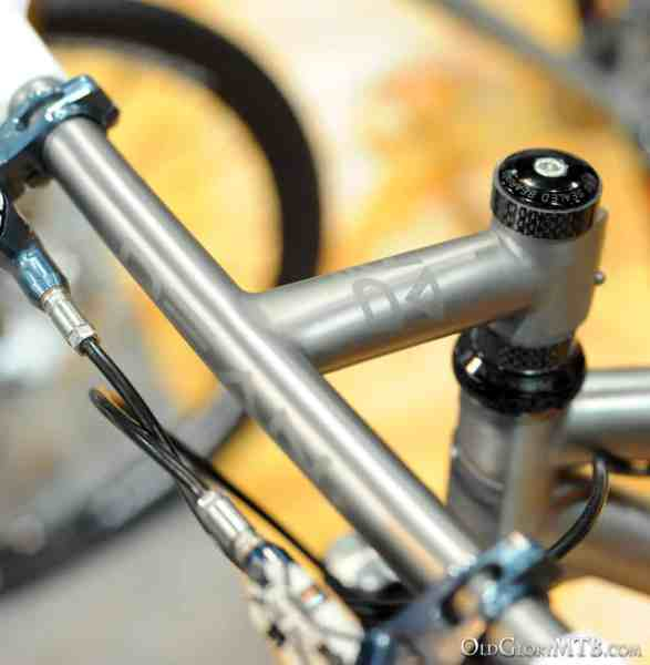 one piece Dean titanium handlebar stem combo