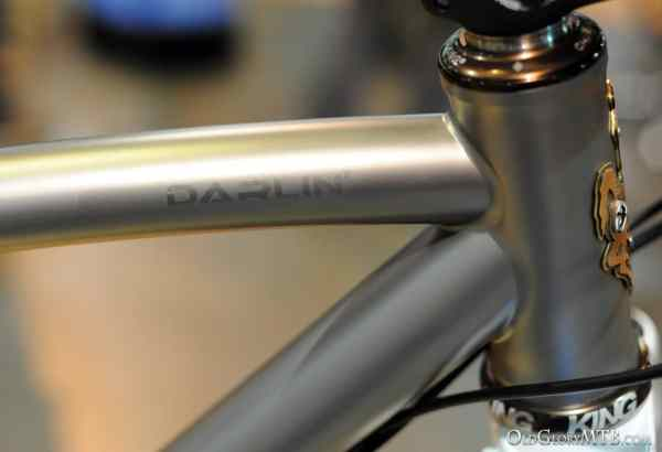 masterful welds at the headtube