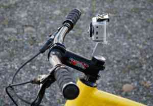 Paul Component stem cap GoPro mount