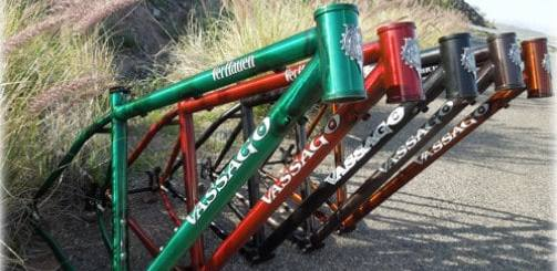 "Vassago VerHauen 29"" steel mountain bike frame"