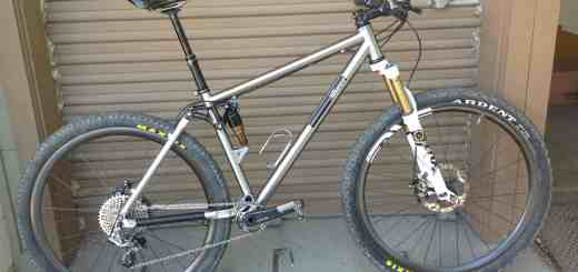 Alliance titanium full suspension 29er
