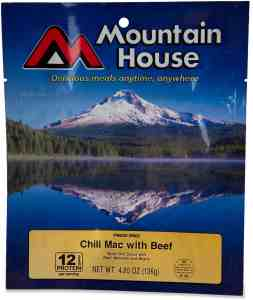 Mountain House freeze dried meal