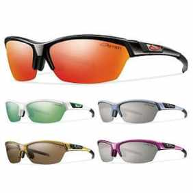 Smith Approach glasses have a strong frame and rimless design at the bottom for greater view of the trail