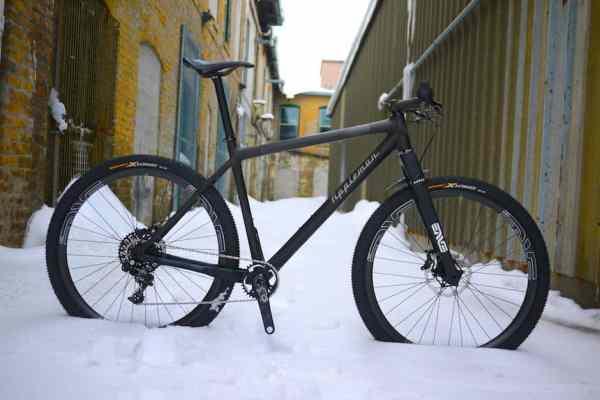 2014 Appleman Custom Carbon Hardtail 29er