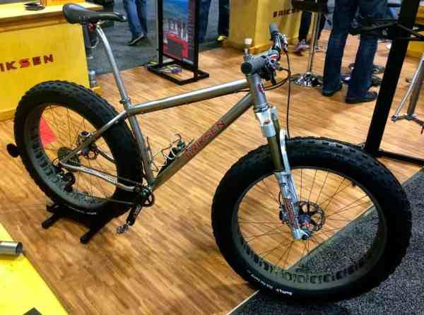 Eriksen Titanium Fat Bike 2014 NAHBS