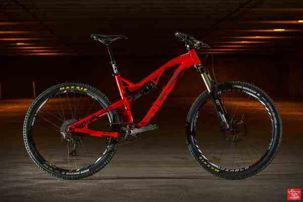 Brian Lopes' 2015 Intense Cycles Spider 27.5