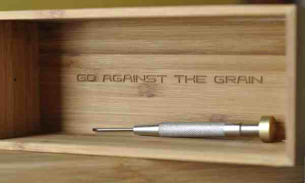 Go against the grain