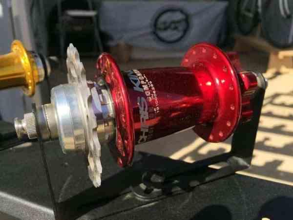 new Chris King 12x142 single speed hub