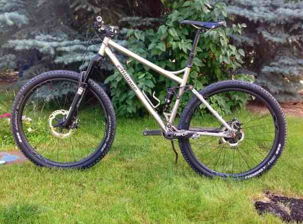Alliance titanium 29er full suspension