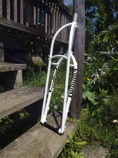 Graham Cycles fat bike truss fork
